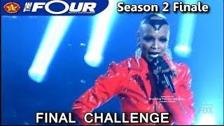 Sharaya J raps Say Less Final Challenge Battle Performance The Four Season 2 FINALE S2E8
