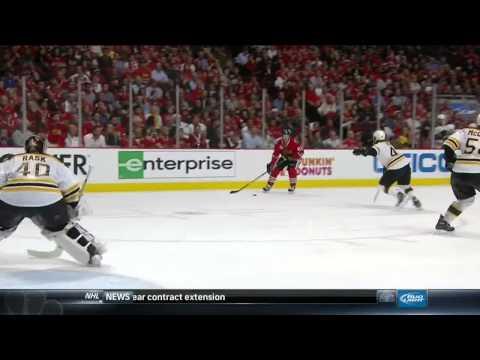 NBC Sports Post Game Report part 1. 6/12/13 Boston Bruins vs Chicago Blackhawks NHL Hockey
