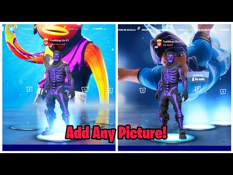 How To Get CUSTOM BACKGROUND In Fortnite Lobby (Put Any Picture On Background)