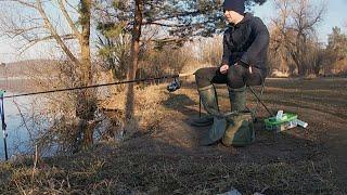 Рыбалка на фидер на водохранилище!Открытие сезона 2020