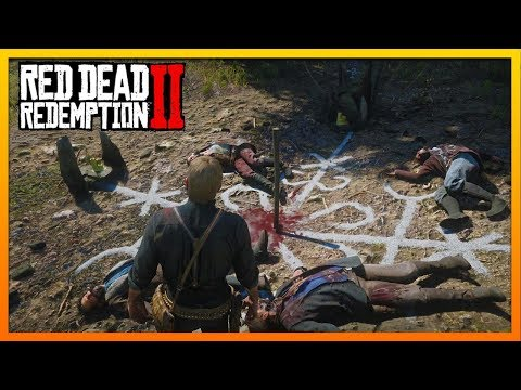 Can We Unlock The Secrets Of The Pagan Ritual Site? Red Dead Redemption 2