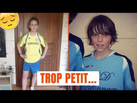 J'ÉTAIS TROP PETIT POUR LE FOOT ...