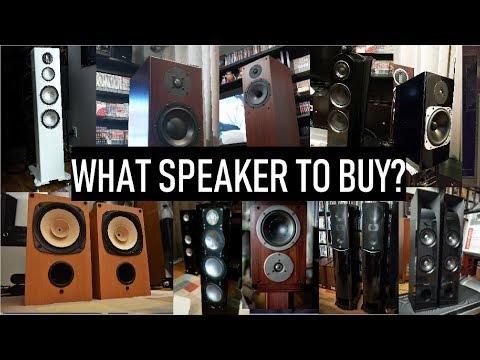 What Speaker To Buy? (Version 2.1)