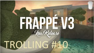 ROBLOX Trolling At Frappe #10   2 LIERS -_-