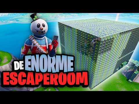 DE ENORME ESCAPEROOM - Fortnite Creative met Don, Rudi & Duncan thumbnail