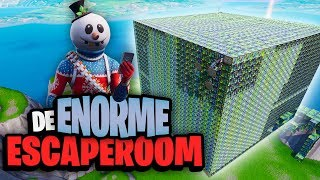 DE ENORME ESCAPEROOM - Fortnite Creative met Don, Rudi & Duncan