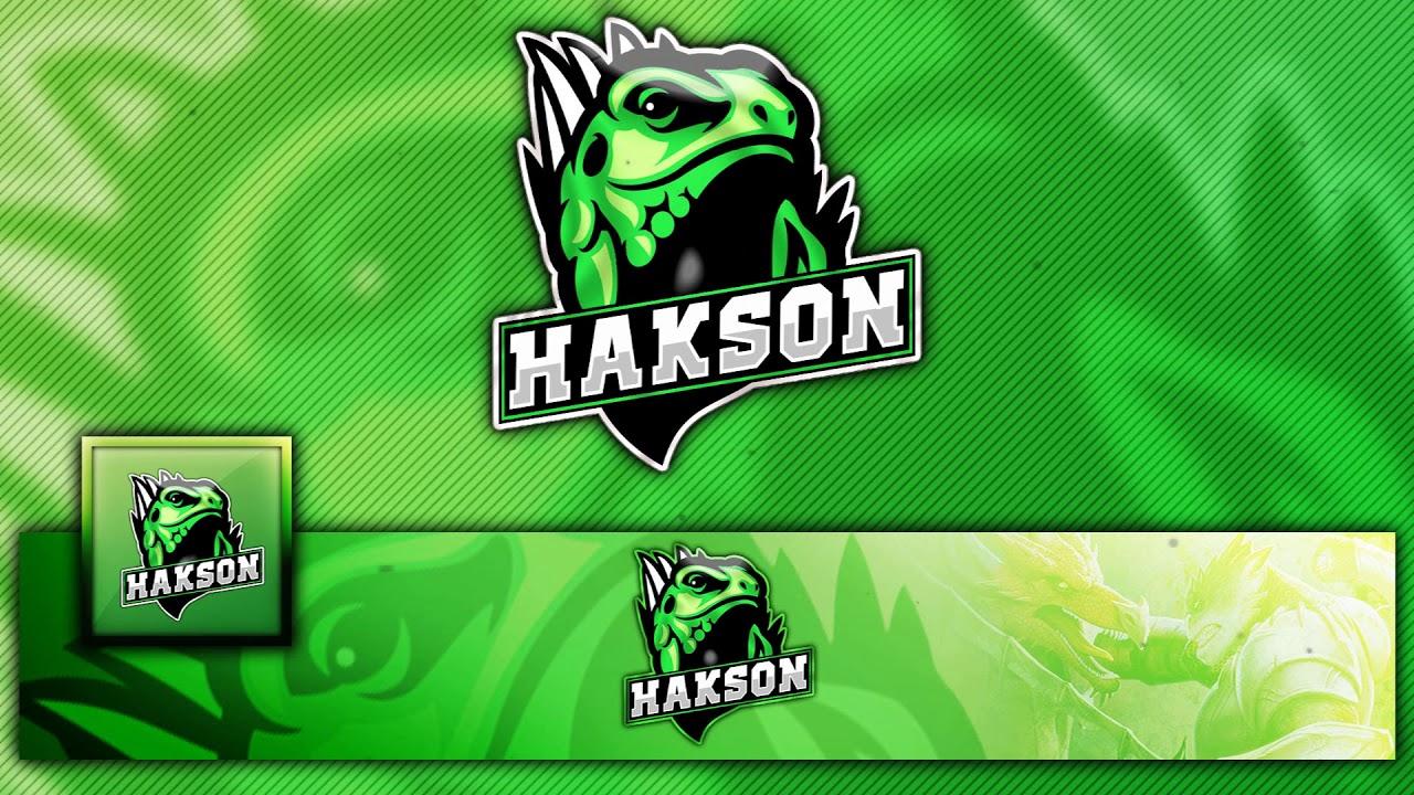 free gaming  clan mascot logo    banner    avatar template