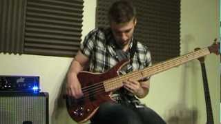 Funky Slap Bass/Chord Groove Ideas - Damien Langkamer