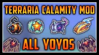 All Yoyos - Terraria Calamity Mod