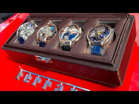 Amazing Crazy Watches that You Can't Afford - Big Boy Toys for the Uber Rich!