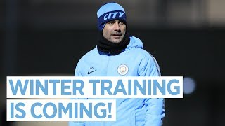 WINTER IS COMING | Man City Training