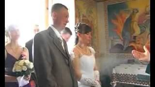 Свадьба. Неудачная шутка на венчании))