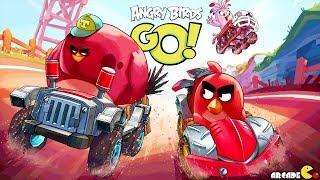 Angry Birds Go Khi Những Chú Chim Đua Tốc Độ - Top Game Mobile Hay Mỗi Ngày