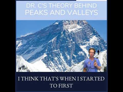 Dr.C's theory about Peaks and Valleys for facial contouring