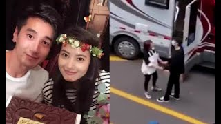 After seven years of marriage,Zhao Youting(Mark Chao)and Gao Yuanyuan still have a sweet interaction