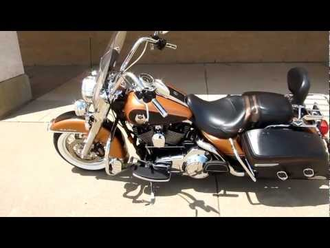 2008-harley-davidson-roadking-classic,-105th-anniversary,-for-sale-in-texas