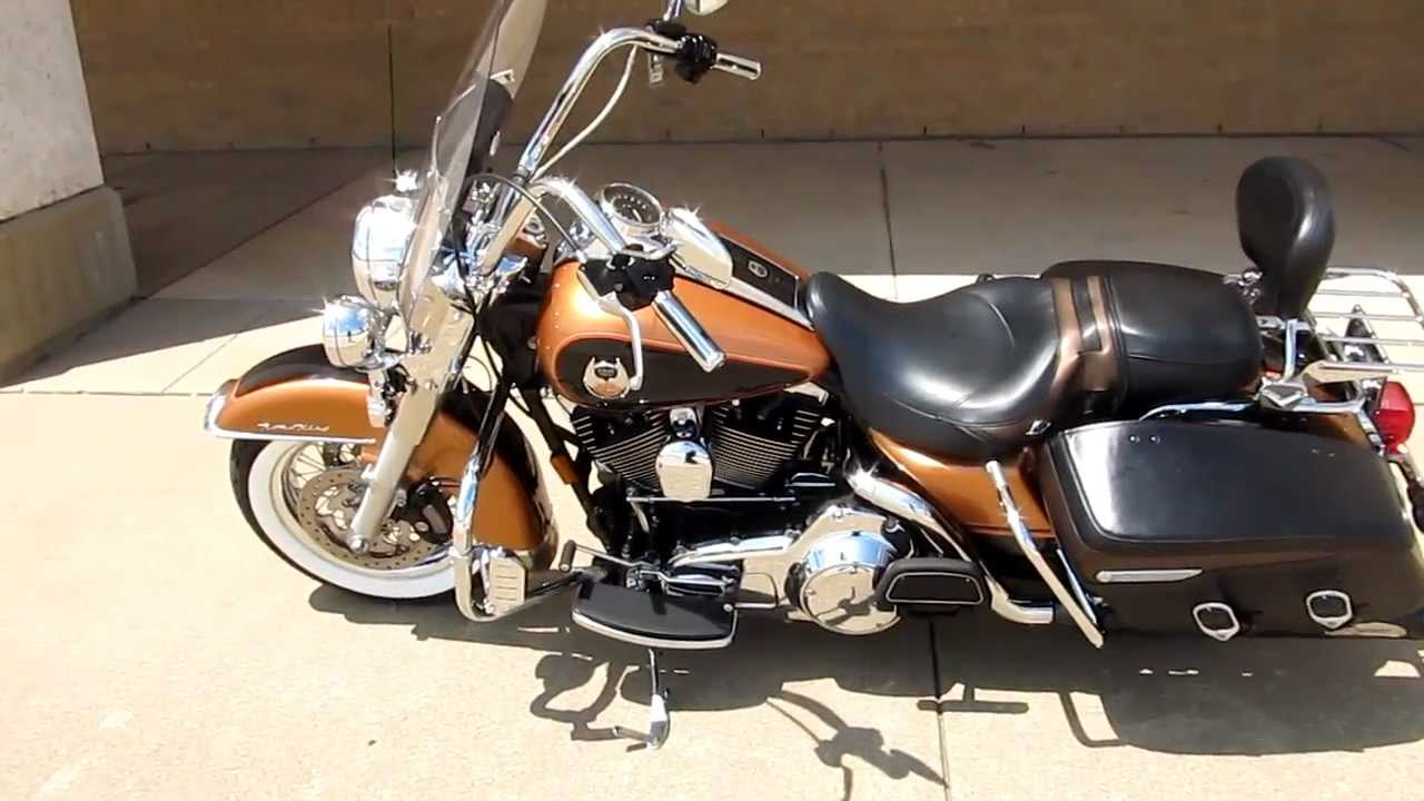 Harley Davidson Road King For Sale >> 2008 Harley-Davidson Roadking Classic, 105th anniversary, for sale in Texas - YouTube