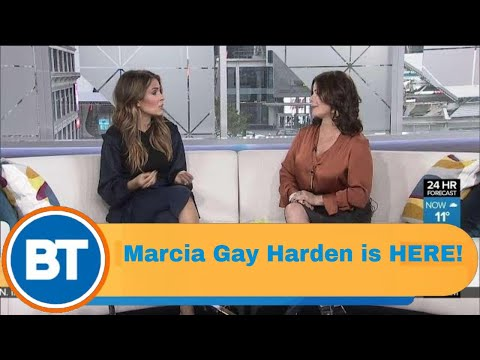 Marcia Gay Harden is HERE!