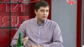"""Давід Сакварелідзе та Юрій Дерев'янко у програмі """"Новий погляд"""""""