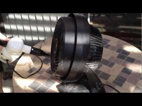 Have you cleaned your fan recently?