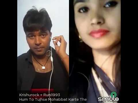 Hum to tujhse mohabbat krte the. Video song