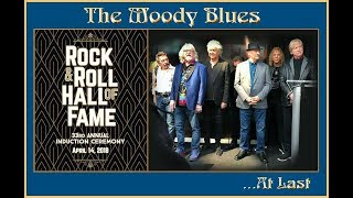 The Moody Blues at the Rock´n´Roll Hall of Fame 2018