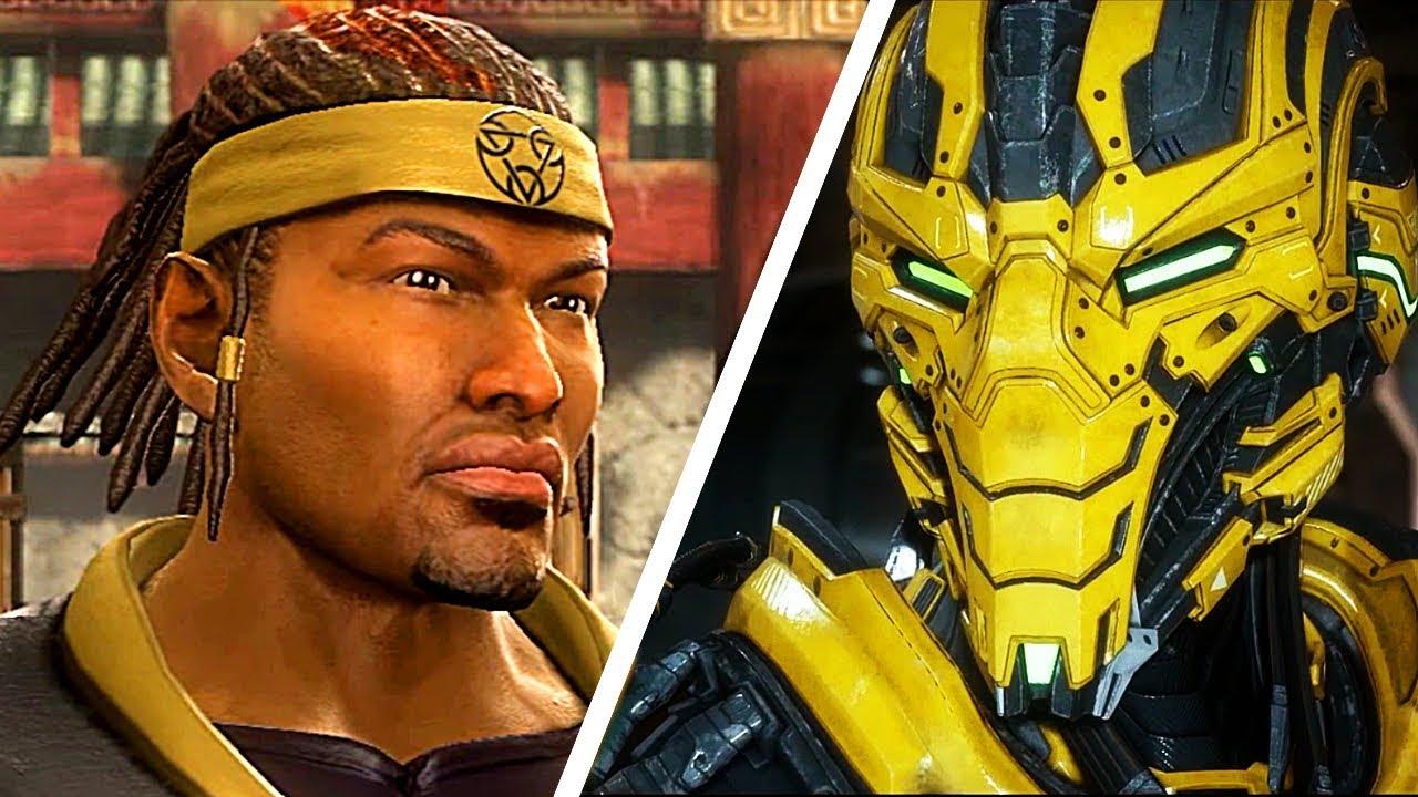 Wie aus Cyrax eine Cyborg-Szene wurde - Mortal Kombat 11 & Mortal Kombat 9 + video