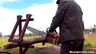 A Better Way To Cut Firewood