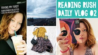 THE READING RUSH VLOGS 💜 Day 02