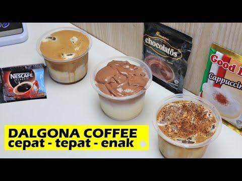CARA CEPAT MEMBUAT DALGONA COFFEE 3 RASA - NESCAFEE , CHOCHOLATOS, U0026 GOOD DAY - MINUMAN KEKINIAN