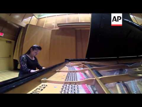 Blind pianist creates 3-D musical score that can be used by blind students