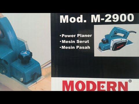 Mesin serut kayu modern Model M-2900 rievew & action