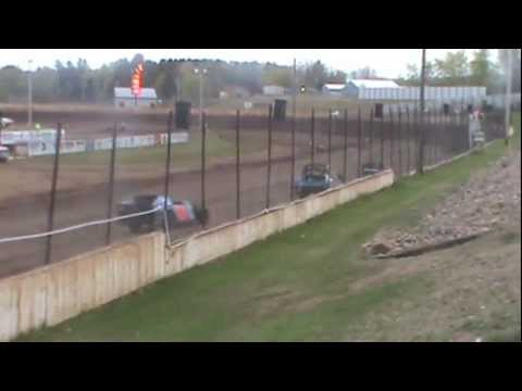 Rice Lake Speedway Heat Race April 28, 2012