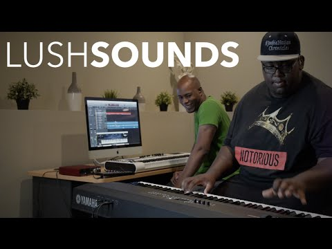 """How To Play LUSH Sounds feat. Joobie Nation + Bjay Brown!!!: http://www.prettysimplemusic.com   Learn how to play """"Lush"""" Sounds + MORE!!! Johnathan """"Joobie"""" Nation and Bjay Brown explore different ways to maximize and play """"LUSH"""" Sounds using the Korg NanoKontrol 2!!!  Sponsored by Pretty Simple Sounds, LLC"""