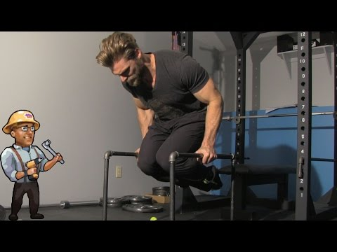Homemade Parallettes – Best for Dips, Rows, Abs – DIY Dudes