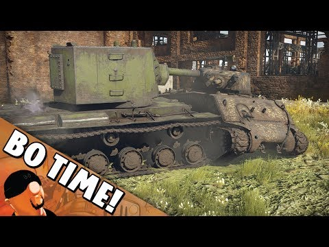 "War Thunder - KV-2 ""You Go To Gulag!"""