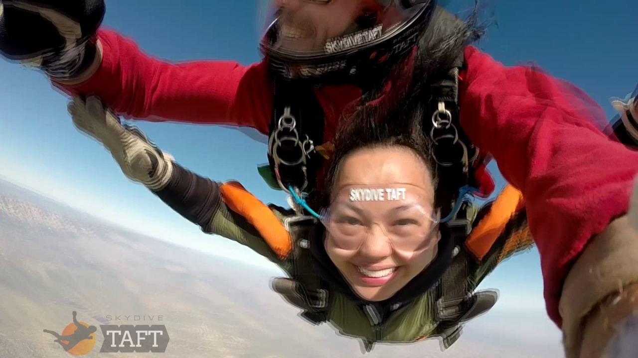 Candice Mesina Skydive Taft