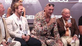 Tyson Fury vs. Tom Schwarz | Tyson Fury Press Conference Highlights