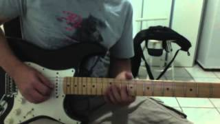 Fender MIM Stratocaster 4th position (Yellow Ledbetter improv.)