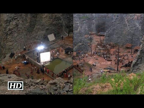 Baahubali: The Conclusion Shooting: Grand Set In The Making