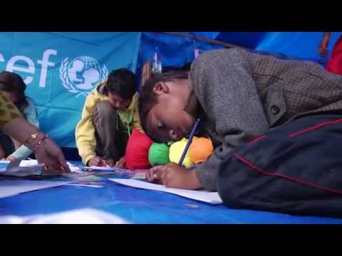Nepal Earthquake: Child-Friendly Spaces   UNICEF USA