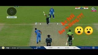Virat Kohli Bowling vs Pakistan!!!