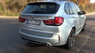 2015 BMW X5M F85 (575 HP) Test Drive