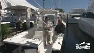 Regulator Marine 34 CC - FS Boat Review from the 2012 Ft. Lauderdale Boat Show