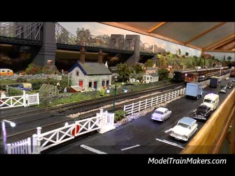 Building a model railway – scale model trains