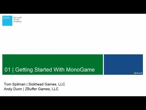 MVA | Getting Started with MonoGame
