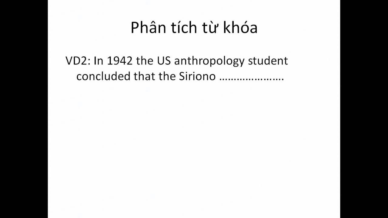 [IELTS Reading] Cách phân tích từ khóa - IELTS Quang Thắng