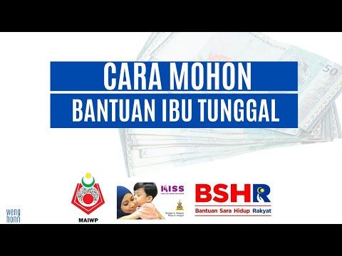 Cara Memohon Bantuan Untuk Ibu Tunggal Malaysia 2020 Daripada Kerajaan Youtube
