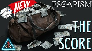 """⚠️ NEW ROOM ALERT⚠️   An INSIDE LOOK at ESCAPISM'S new game - """"THE SCORE""""!!"""