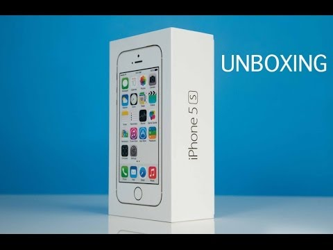 iPhone 5S Unboxing and Product Tour - YouTube